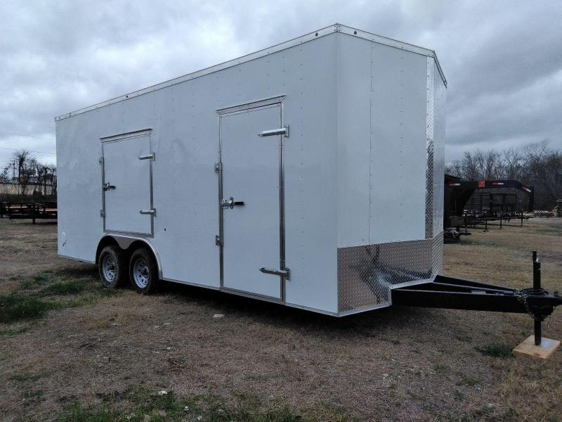 2018 Salvation Trailers 8.5x20 Enclosed Cargo Trailer