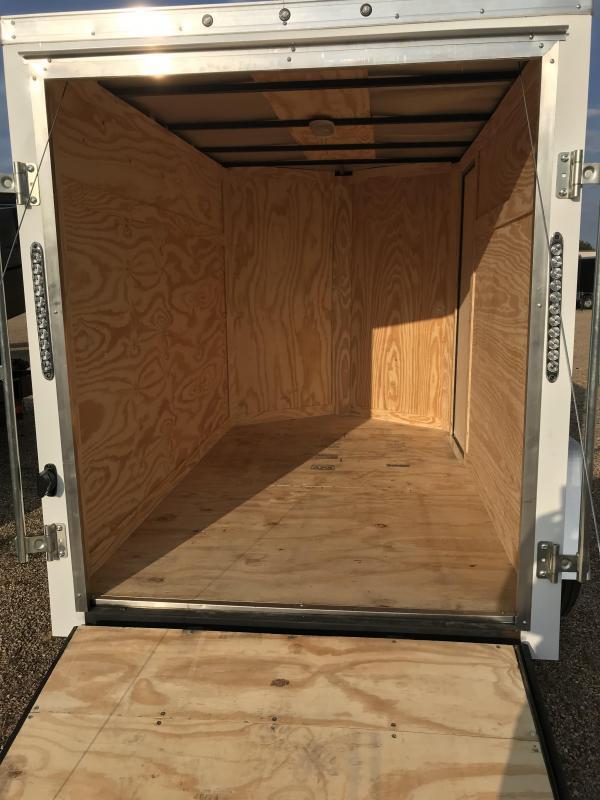 2019 Salvation 5X8 Enclosed Cargo Trailer