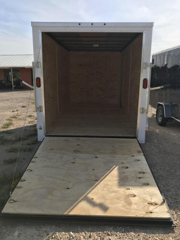 2020 Salvation 7x14 Enclosed Cargo Trailer