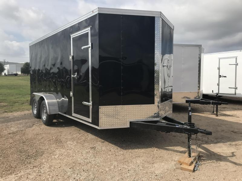 2019 Salvation 7x16 Enclosed Cargo Trailer