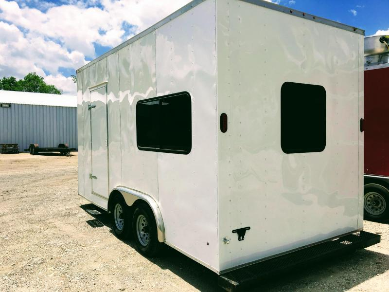 2019 Salvation 8.5X20TA Office Trailer
