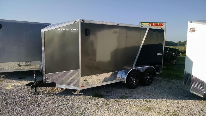 Stealth Titan 7X14 Plus 6 Inches Height Enclosed Torsion Trailer