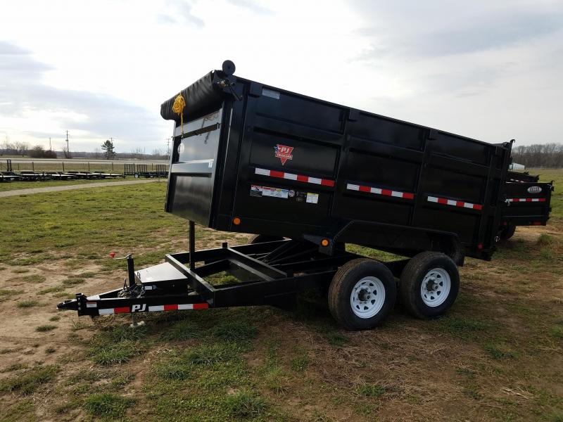 2017 PJ Trailers 83X12 High Side 14K Dump Trailer