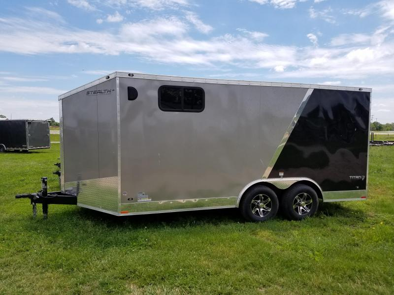 2018 Stealth 8.5X16 Titan 10K Enclosed Cargo Trailer