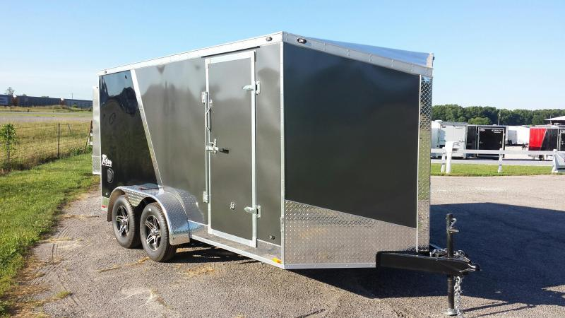 Stealth Titan 7X14 Enclosed Torsion Axle Trailer