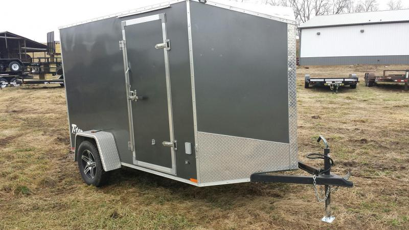 2016 Stealth Trailers 6X12 TITAN SE Motorcycle Trailer