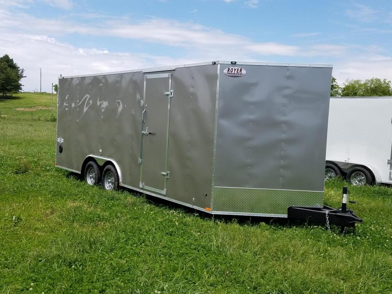 2018 Stealth Trailers STET8.5X20 -PEWTER Enclosed Cargo Trailer