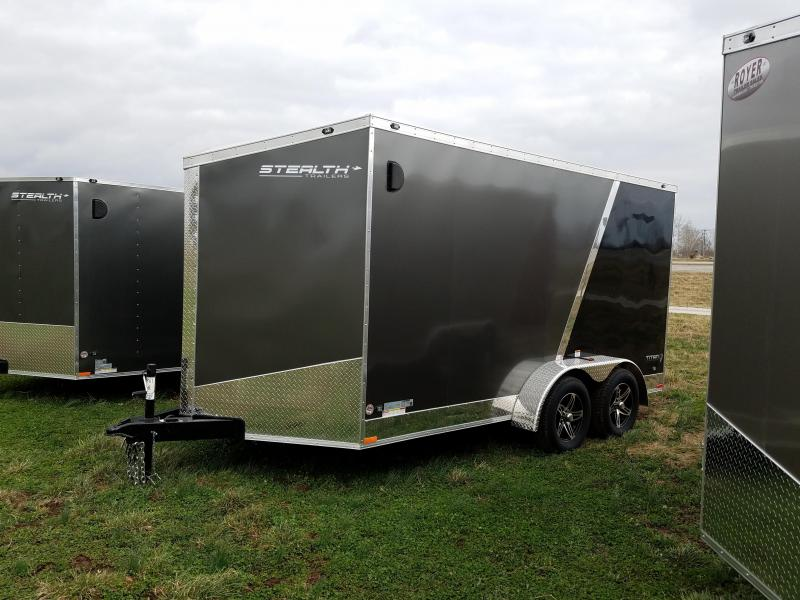 2017 7x14 Stealth Enclosed Extra Height Trailer Autos Post