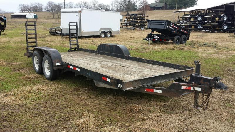 Cronkhite 82x20 12K Equipment Trailer