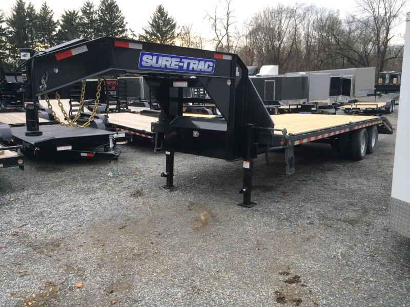 2016 Sure-Trac 102x20+5 25K Beavertail Deckover Trailer