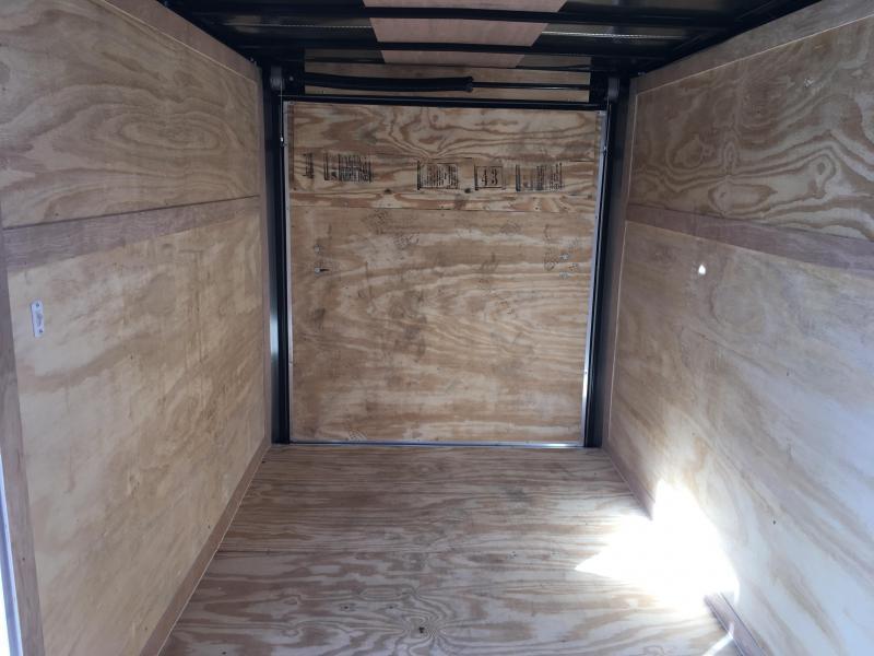 2018 Freedom 6x12' Enclosed Cargo Trailer 2990# GVW