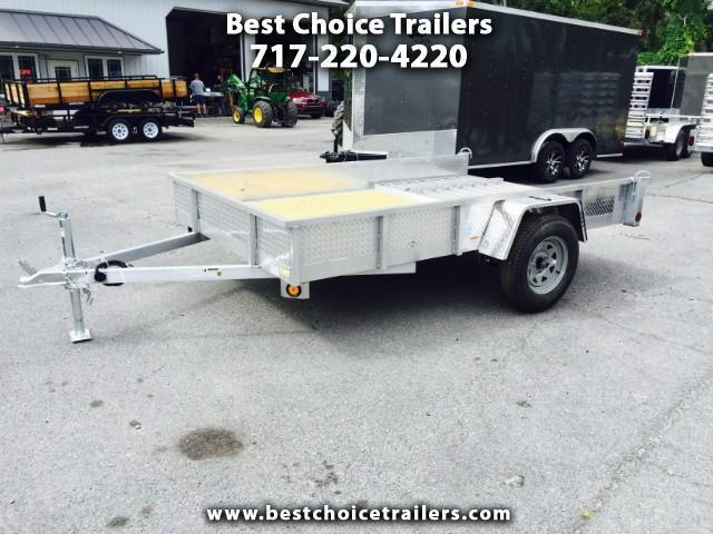 2018 QSA 6x10' Simplicity Utility Trailer 2990# ATP SIDES