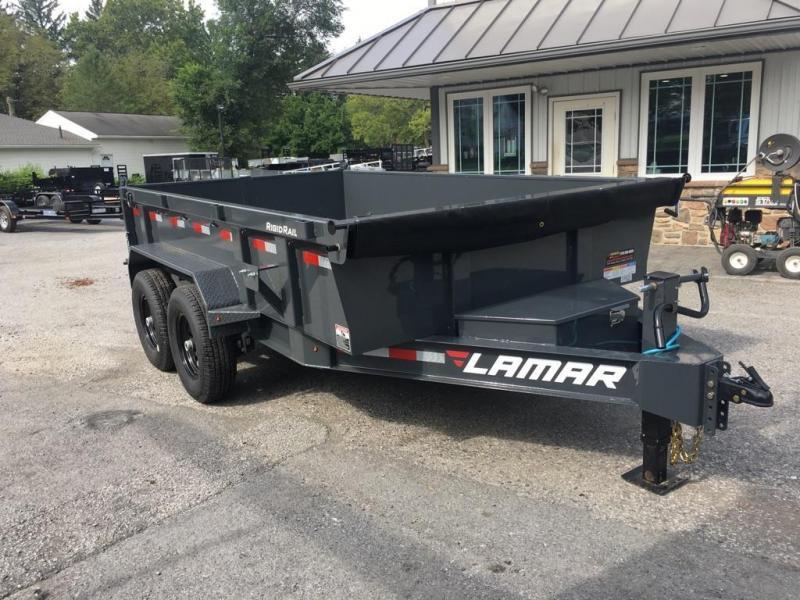 2017 Lamar 7x14 Dump Trailer 14000# GVW