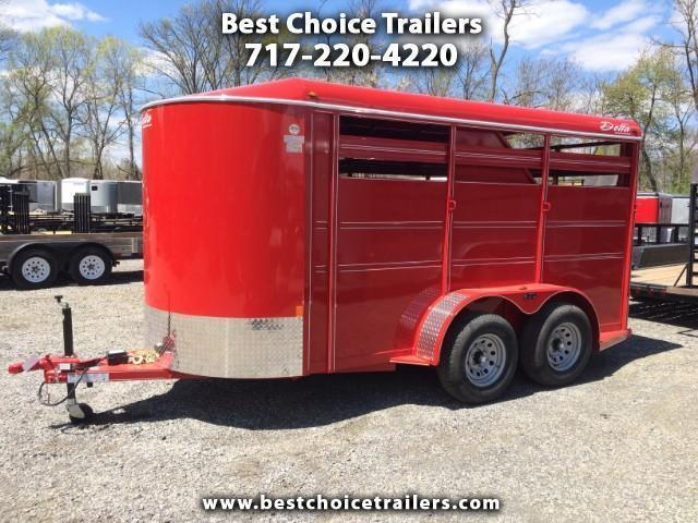 2017 Delta Manufacturing 500ES 12' Livestock Trailer