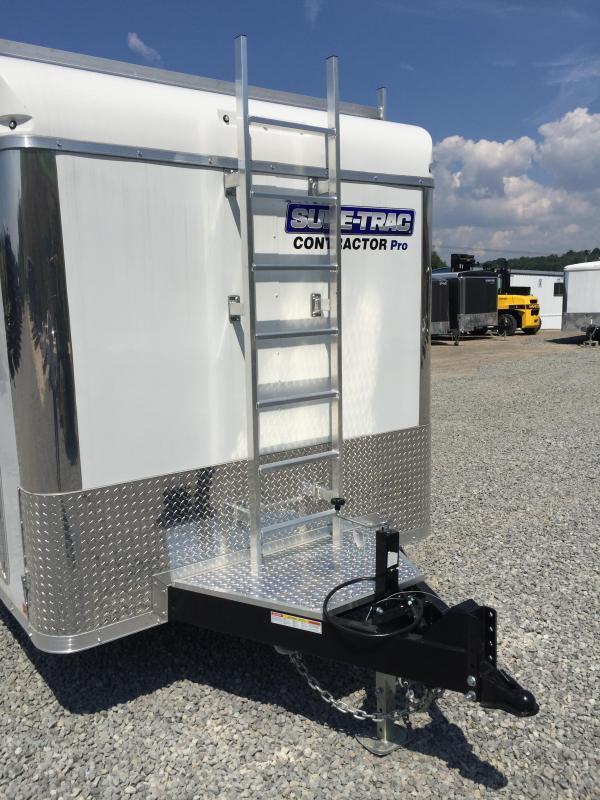 2017 Sure-Trac 7x16 Contractor Pro Enclosed Cargo Trailer 9900# GVW