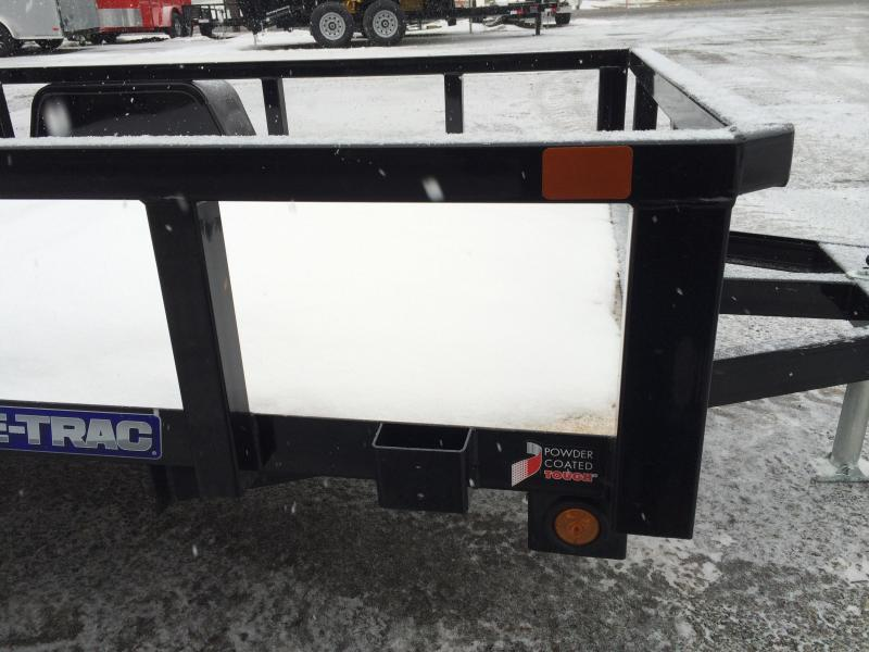 2018 Sure-Trac 5x8' Tube Top Utility Trailer 2990# GVW