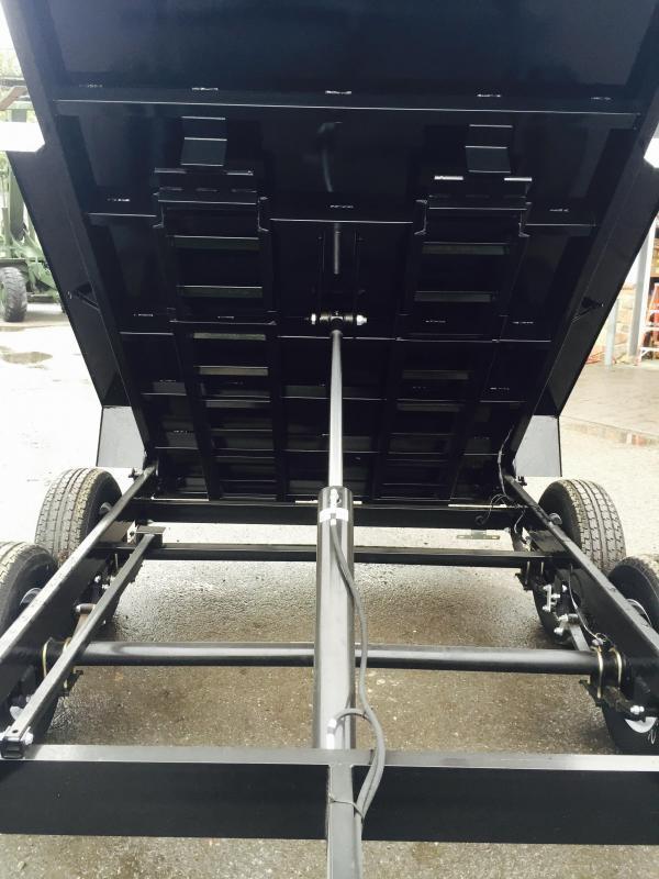 2018 Sure-Trac 6x10' LowPro Dump Trailer 7000# GVW