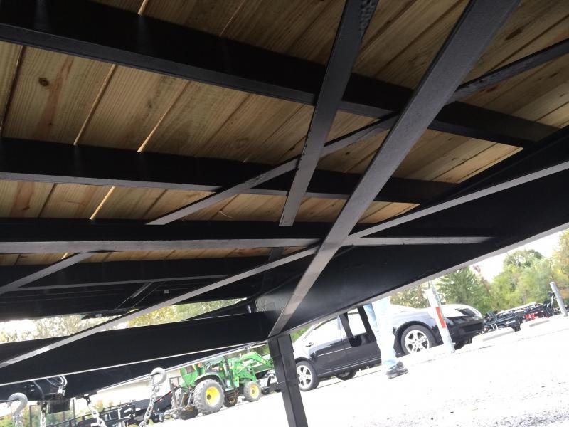 2017 Sure-Trac 102x20+5 15K Beavertail Deckover Trailer