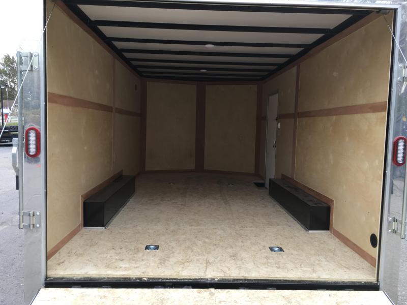 2018 Sure-Trac 8.5x16' Enclosed Cargo Trailer 7000# GVW