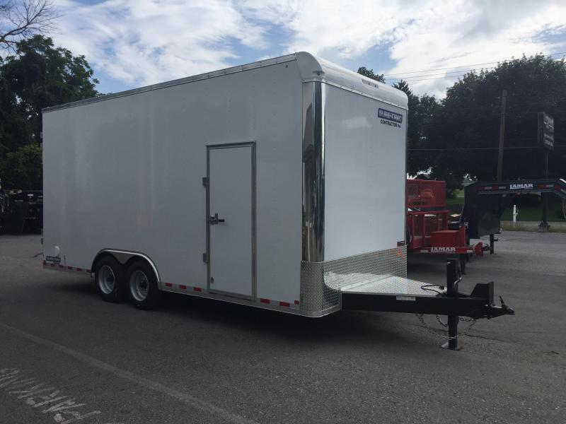 2018 Sure-Trac 8.5x20' Enclosed Contractor Pro 16000# GVW