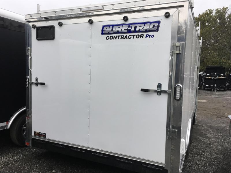 2017 Sure-Trac 8.5x16' Contractor Pro Enclosed Trailer 7000# GVW