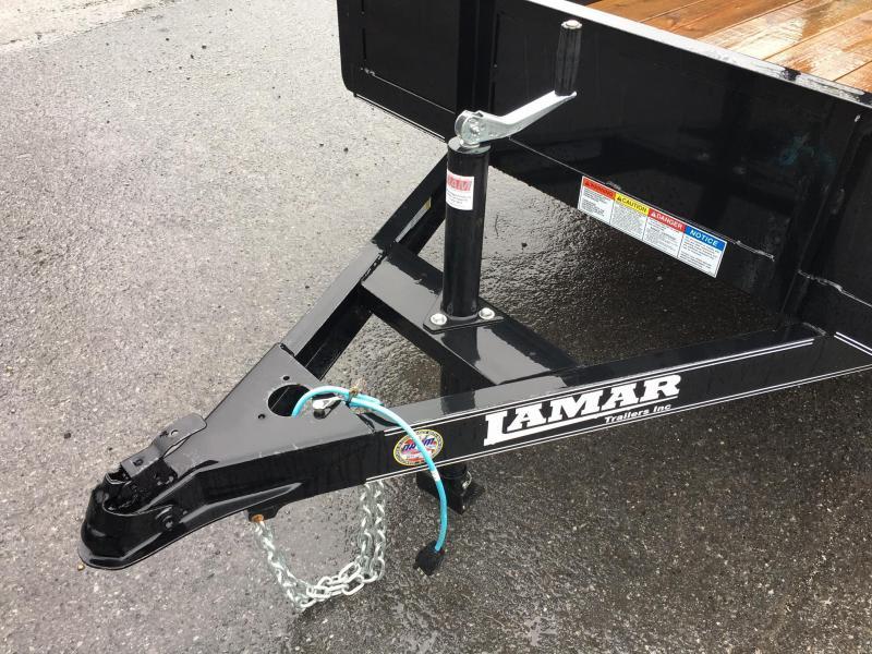 2017 Lamar 5x8 UT03 Utility Trailer 2990# GVW SOLID SIDES