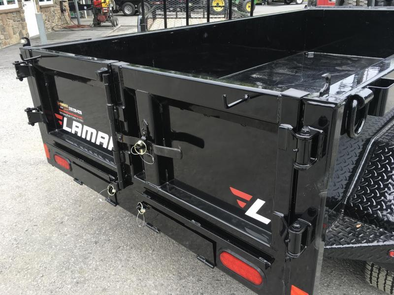 2018 Lamar 5x10' DS60 Dump Trailer 7000# GVW