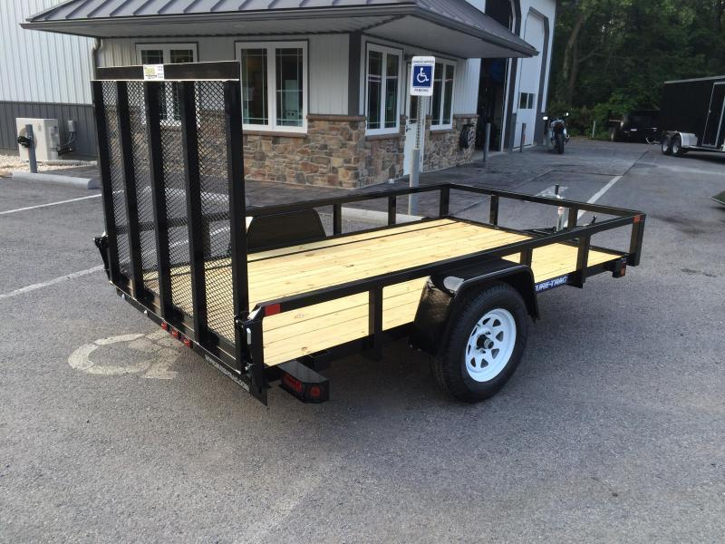 2018 Sure-Trac 5x10' Tube Top Utility Trailer 2990# GVW