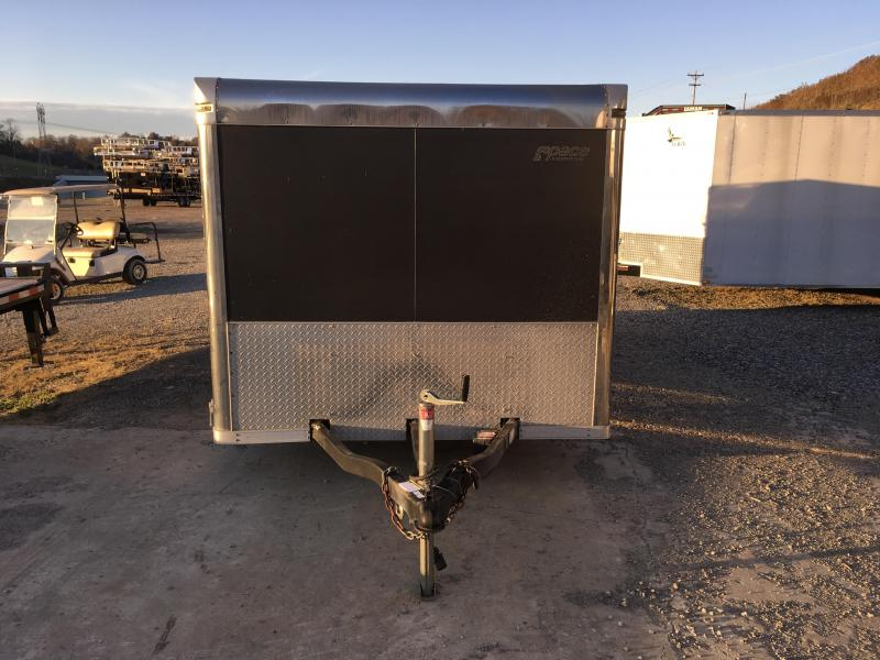 USED 2008 Pace American 7x16' Enclosed Trailer 7000# GVW - E-TRACK TORSION AXLES