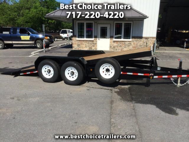 2017 Sure-Trac Tilt Bed Equipment Trailer 7'x18' 14000#
