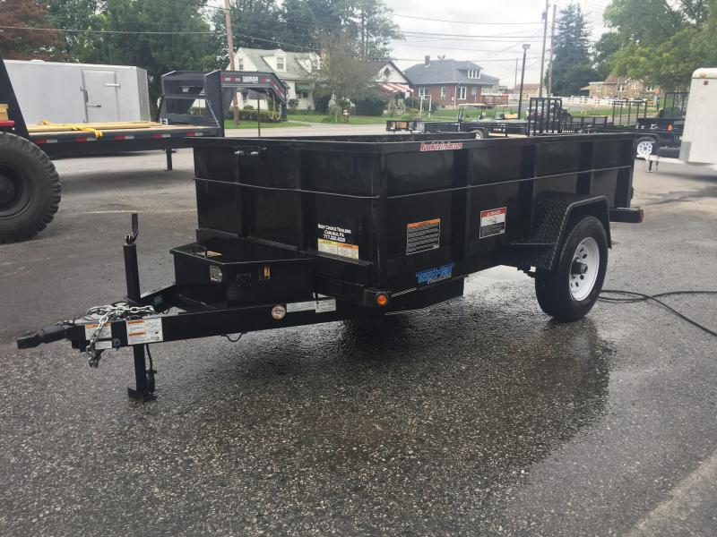 USED 2016 Top Hat 5x10' 5000# Dump Trailer