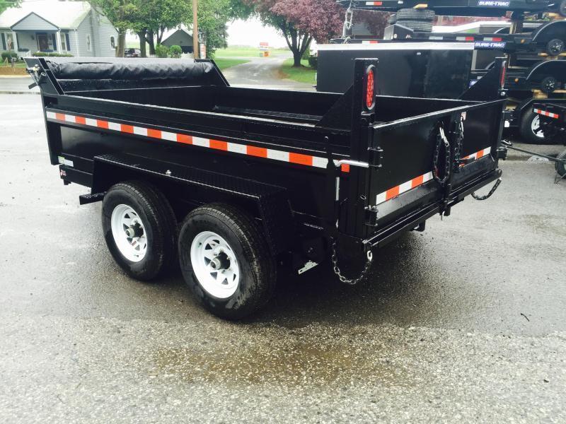 2017 Sure-Trac 6x10' 7000# Low Profile Dump Trailer