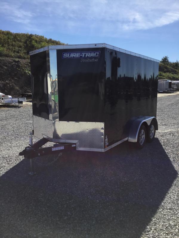 2017 Sure-Trac 7x12' Enclosed Cargo Trailer 7000# GVW
