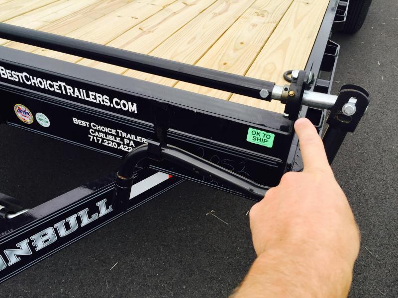 2017 Norstar Ironbull 7X20' Equipment Trailer 14000# GVW