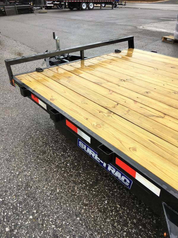 2017 Sure-Trac 7x20' 9900# Wood Deck Car Hauler