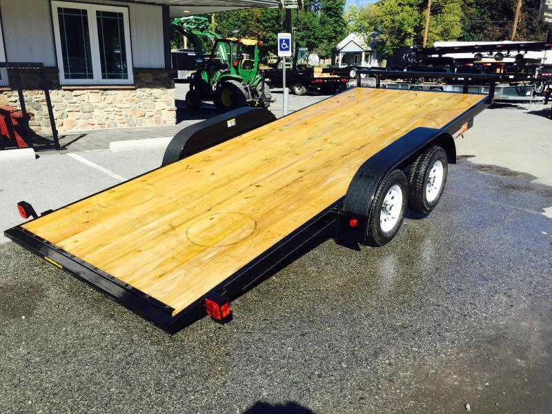 2017 H&H 7x20' 7000# MXC MANUAL Tilt Car Hauler