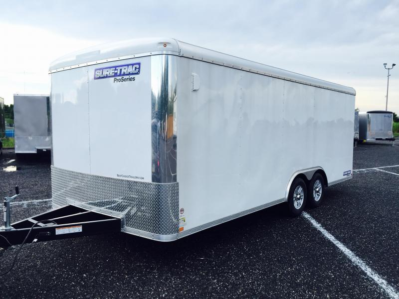 2016 Sure-Trac STRCH Commercial Round Top Enclosed Car Hauler 8.5' x 20'