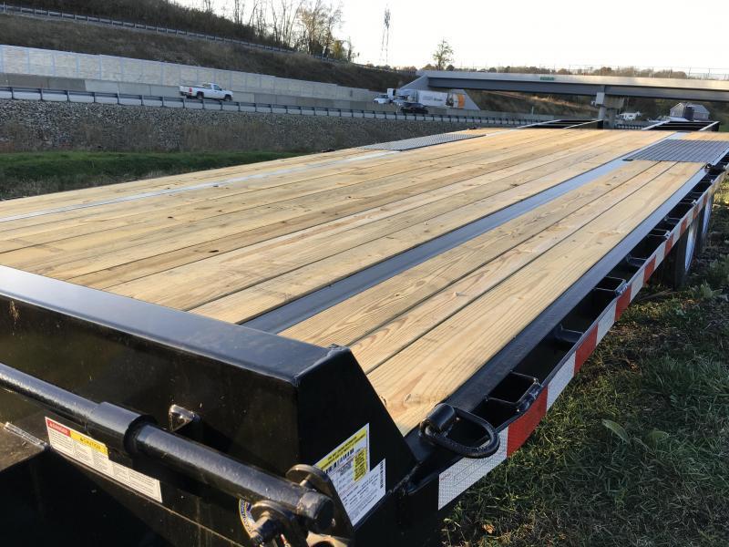 "2018 Sure-Trac 102""x20+5' LowPro Deckover Trailer 17600# GVW - PIERCED FRAME"