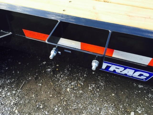 2018 Sure-Trac 7'x18' 9900# Skidsteer Equipment Trailer LOW LOAD ANGLE