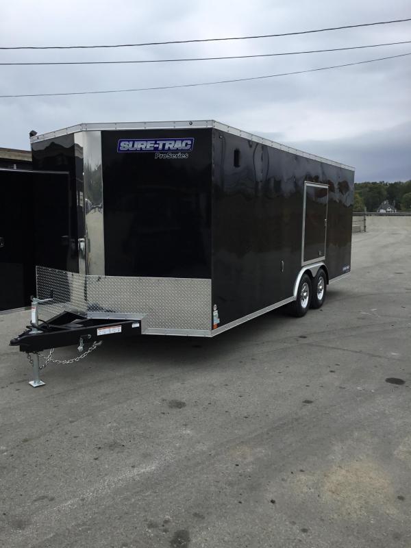 2017 Sure-Trac 8.5x20' Enclosed Car Trailer 9900# GVW - ESCAPE HATCH