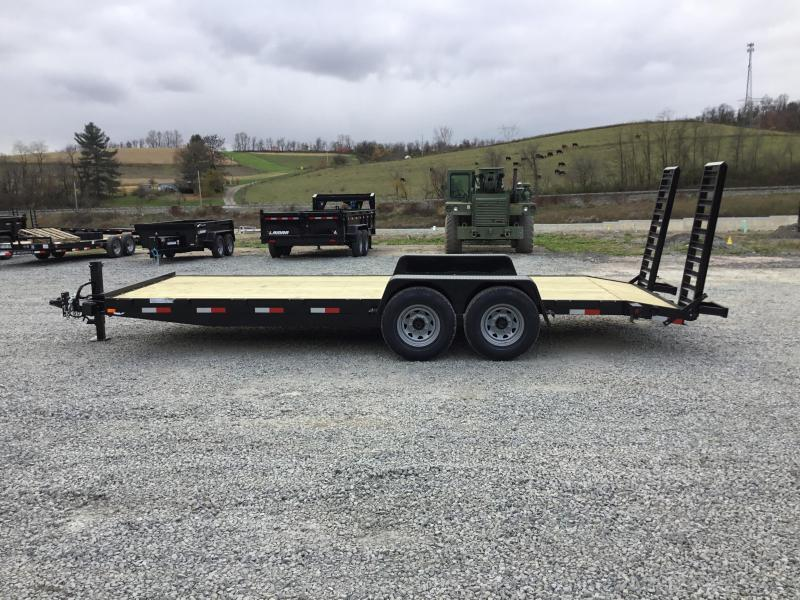 2018 AMO 7x20' Equipment Trailer 12000# GVW