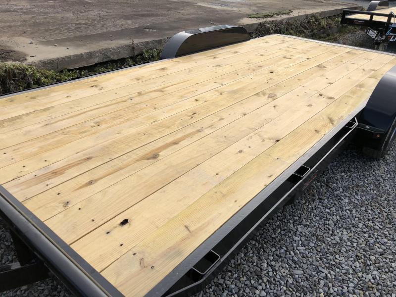 2018 Lamar 7x18' CE Wood Deck Car Trailer 7000# GVW