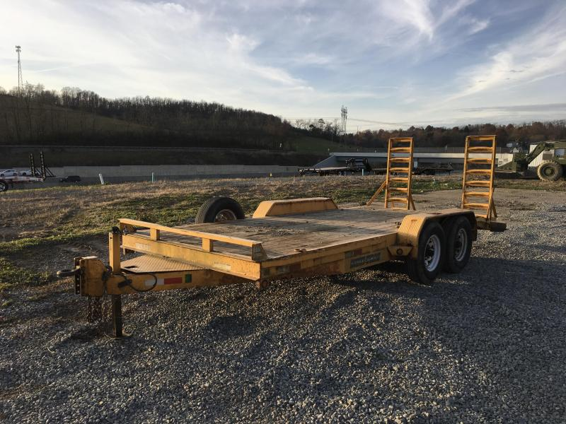 USED 2011 Sure-Trac 7x18' Equipment Trailer 14000# GVW