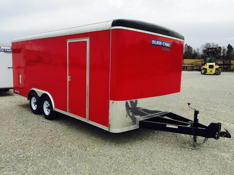 2016 Sure-Trac STRCH Commercial Round Top Enclosed Car Hauler 8.5' x 18'