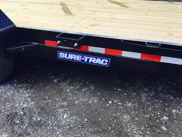 2017 Sure-Trac Implement 7'x18' 14000# Equipment Trailer