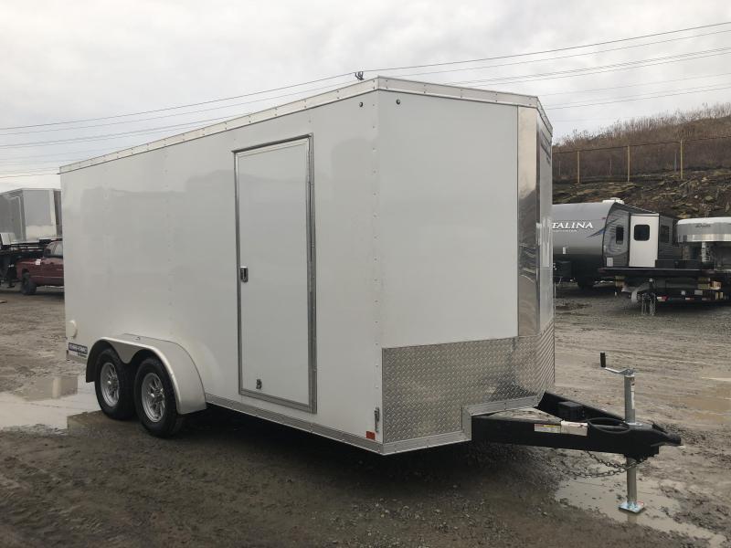 2018 Sure-Trac 7x16' Enclosed Cargo Trailer 7000# GVW - STW8416TA