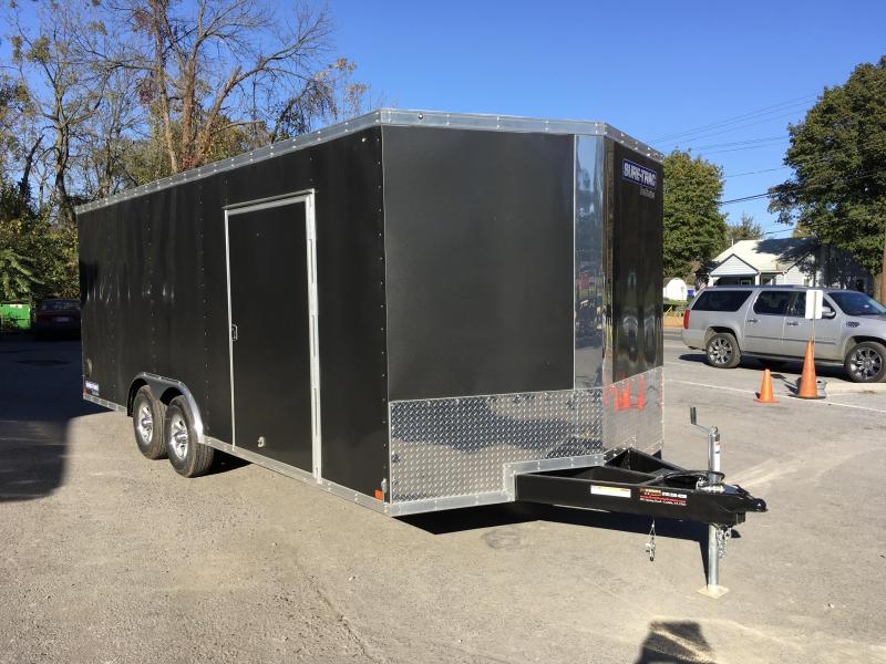 2017 Sure-Trac 8.5x20' Enclosed Car Trailer 9900# GVW - ESCAPE HATCH