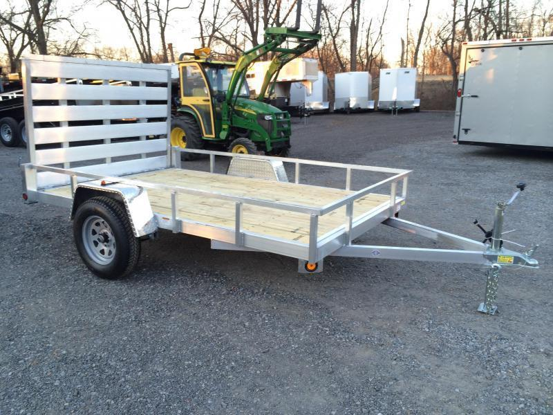 Quality steel and aluminum utility trailers for sale for 6x12 wood floor trailer