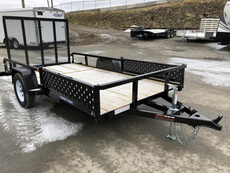 2018 Sure-Trac 6x12' Tube Top ATV Side Ramps Utility Trailer 2990# GVW