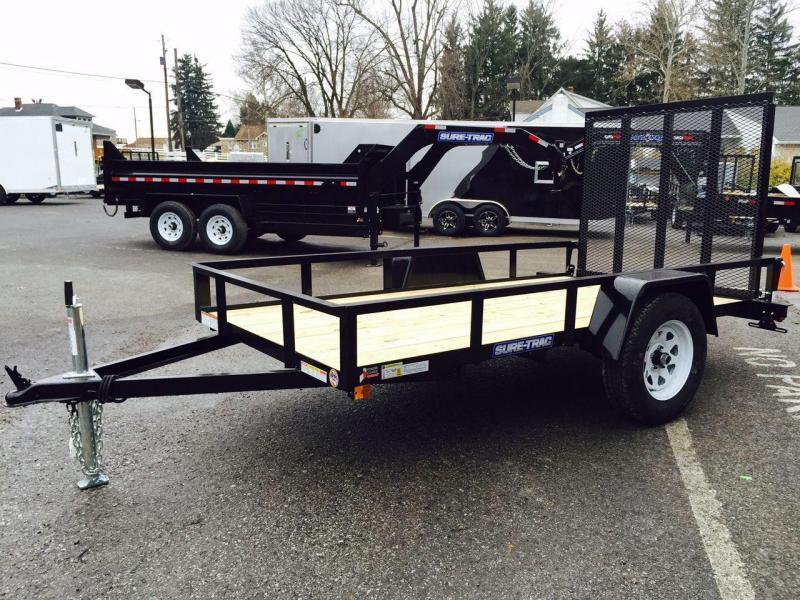 2018 Sure-Trac 6x10' Angle Iron Utility Trailer 2990# GVW